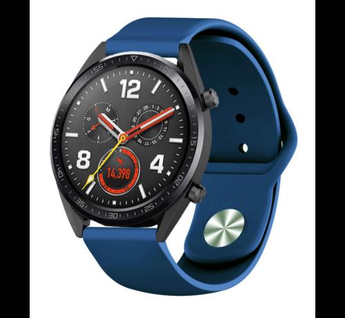 Strap-it® Strap-it® Huawei Watch GT sport band (donkerblauw)