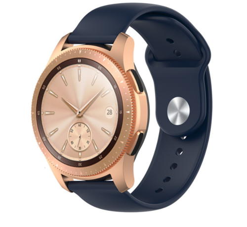Strap-it® Strap-it® Samsung Galaxy Watch sport band 41mm / 42mm (donkerblauw)