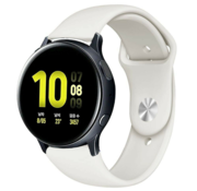 Strap-it® Samsung Galaxy Watch Active sport band (wit)