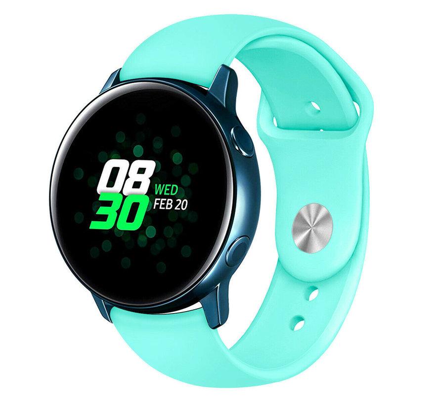 Strap-it® Samsung Galaxy Watch Active sport band (aqua)