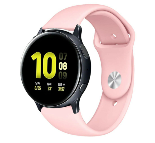 Strap-it® Strap-it® Samsung Galaxy Watch Active sport band (roze)