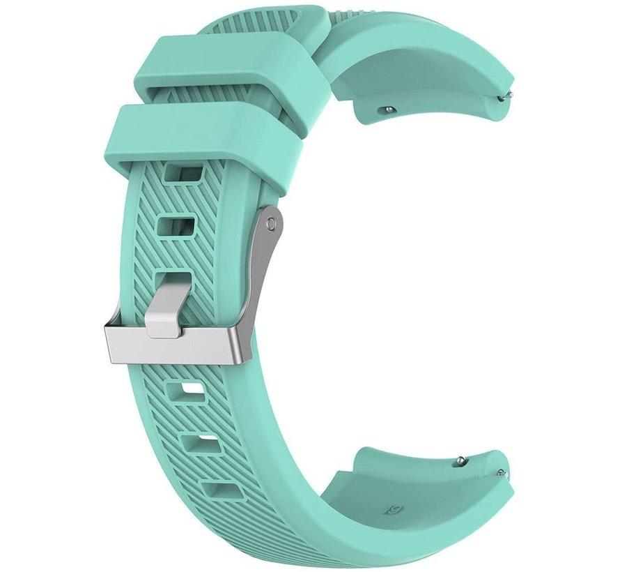 Strap-it® Huawei Watch GT siliconen bandje (aqua)