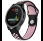 Strap-it® Garmin Vivoactive 3 sport band (zwart roze)