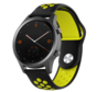 Strap-it® Garmin Vivomove HR sport band (zwart/geel)