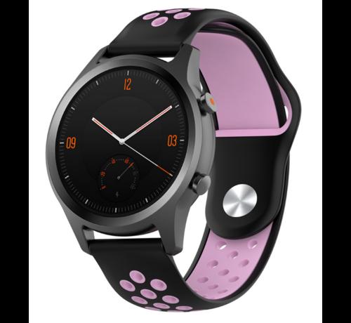 Strap-it® Strap-it® Garmin Vivomove HR sport band (zwart/roze)