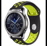 Samsung Gear S3 sport band (zwart/geel)
