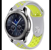 Samsung Gear S3 sport band (grijs/geel)