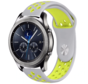 Strap-it® Samsung Gear S3 sport band (grijs/geel)