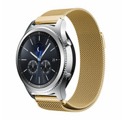 Strap-it® Samsung Gear S3 Milanese band (goud)