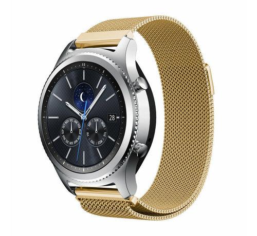 Strap-it® Strap-it® Samsung Gear S3 Milanese band (goud)