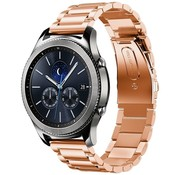 Strap-it® Samsung Gear S3 stalen band (rosé goud)