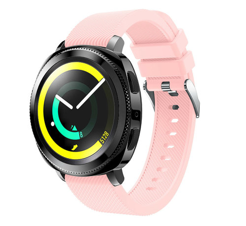 Strap-it® Strap-it® Samsung Gear Sport silicone band (roze)