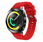 Samsung Gear Sport silicone band (rood)