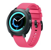 Strap-it® Samsung Gear Sport silicone band (knalroze)