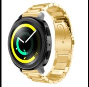 Strap-it® Samsung Gear Sport stalen band (goud)