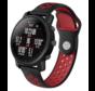 Strap-it® Xiaomi Amazfit Pace sport band (zwart/rood)