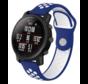 Strap-it® Xiaomi Amazfit Pace sport band (blauw/wit)