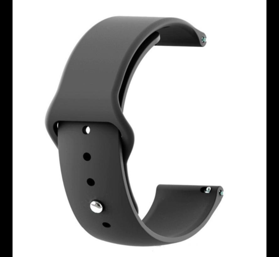 Strap-it® Xiaomi Amazfit Pace sport band (zwart)