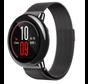 Strap-it® Xiaomi Amazfit Pace Milanese band (zwart)