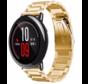 Strap-it® Xiaomi Amazfit Pace stalen band (goud)
