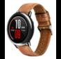Strap-it® Xiaomi Amazfit Pace leren bandje (bruin)