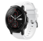 Strap-it® Xiaomi Amazfit Stratos silicone band (wit)