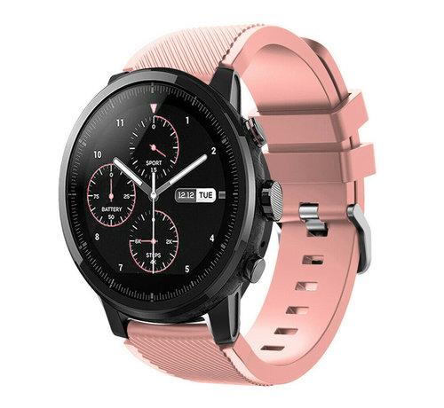 Strap-it® Strap-it® Xiaomi Amazfit Stratos silicone band (roze)