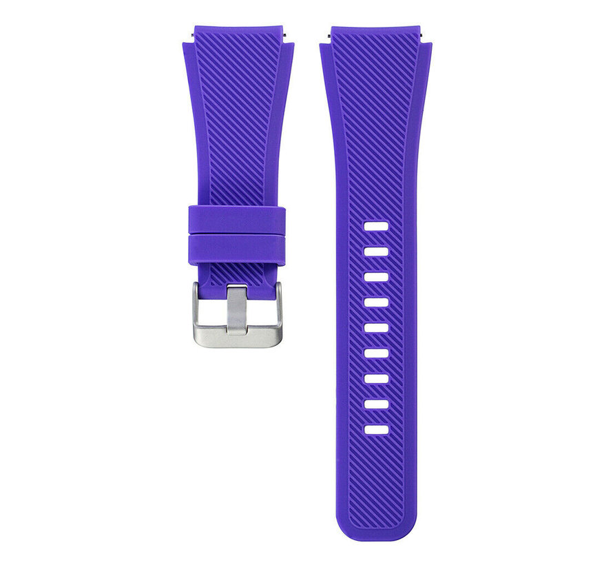 Strap-it® Xiaomi Amazfit Stratos silicone band (paars)