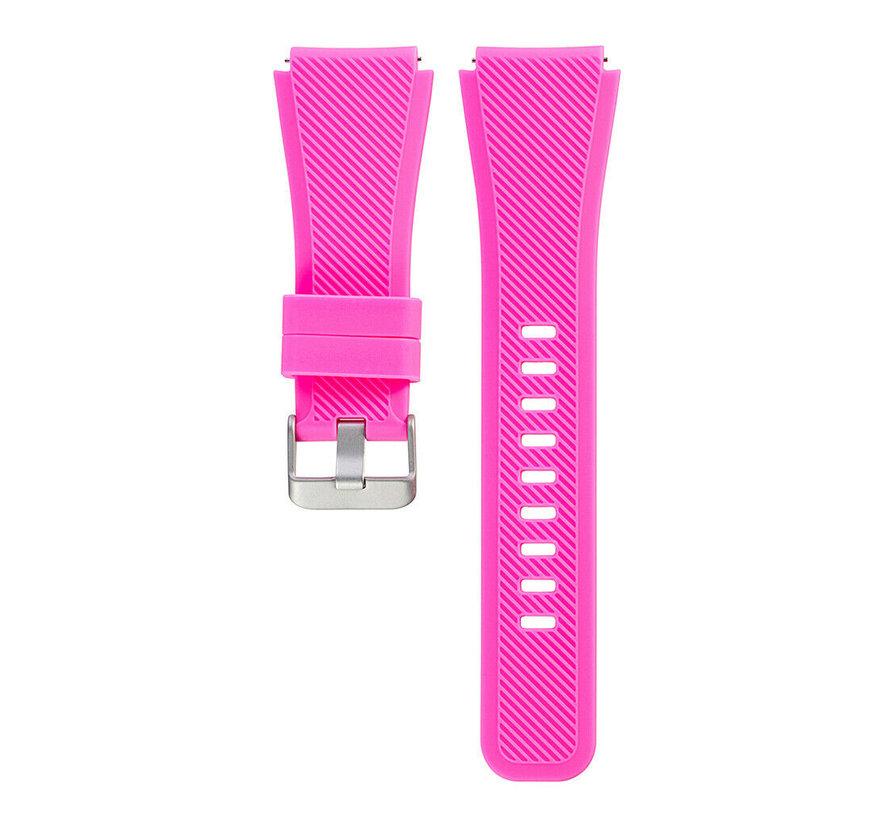 Strap-it® Xiaomi Amazfit Stratos silicone band (knalroze)