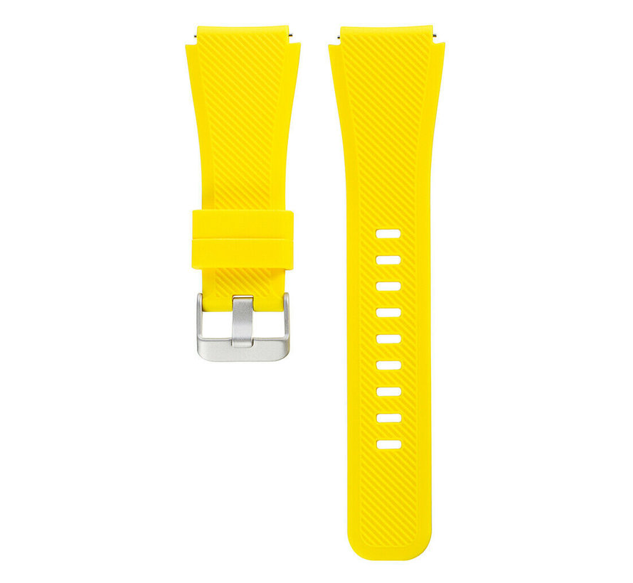 Strap-it® Xiaomi Amazfit Stratos silicone band (geel)