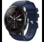 Strap-it® Xiaomi Amazfit Stratos silicone band (donkerblauw)