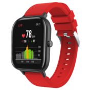 Strap-it® Xiaomi Amazfit GTS silicone band (rood)