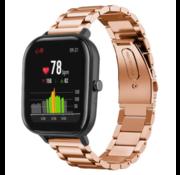 Xiaomi Amazfit GTS stalen band (rosé goud)