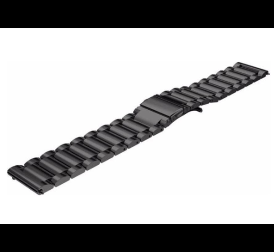 Xiaomi Amazfit Stratos stalen band (zwart)