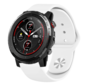 Strap-it® Xiaomi Amazfit Stratos sport band (wit)