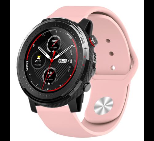 Strap-it® Strap-it® Xiaomi Amazfit Stratos sport band (roze)