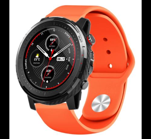 Strap-it® Strap-it® Xiaomi Amazfit Stratos sport band (oranje)