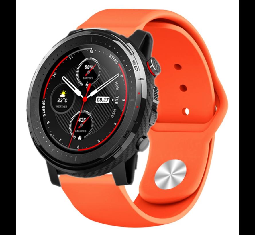 Strap-it® Xiaomi Amazfit Stratos sport band (oranje)