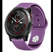 Strap-it® Xiaomi Amazfit Stratos sport band (paars)