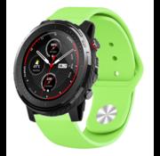 Strap-it® Xiaomi Amazfit Stratos sport band (lichtgroen)