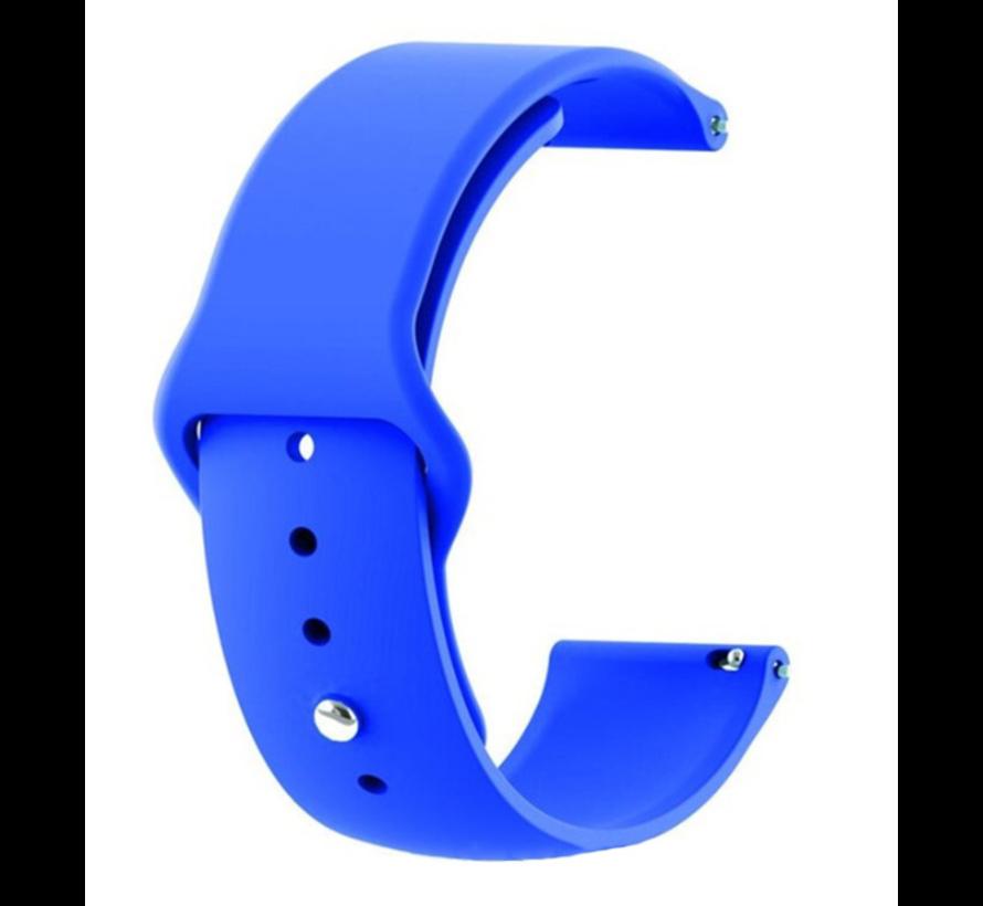 Strap-it® Xiaomi Amazfit Stratos sport band (blauw)