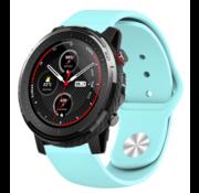 Strap-it® Xiaomi Amazfit Stratos sport band (aqua)