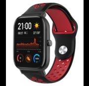 Xiaomi Amazfit GTS sport band (zwart/rood)