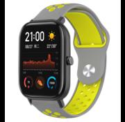 Xiaomi Amazfit GTS sport band (grijs/geel)