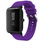 Strap-it® Xiaomi Amazfit Bip silicone band (paars)