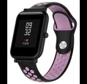 Xiaomi Amazfit Bip sport band (zwart/roze)