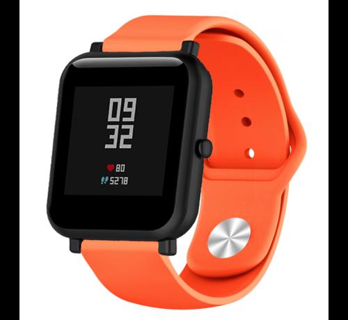 Strap-it® Strap-it® Xiaomi Amazfit Bip sport band (oranje)