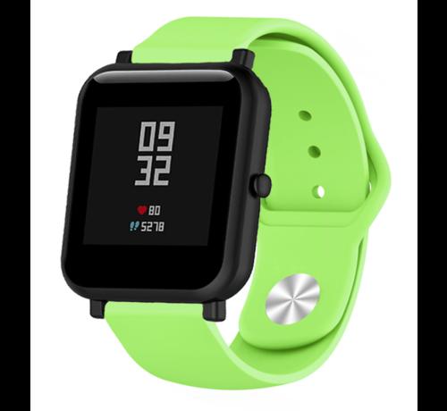 Strap-it® Strap-it® Xiaomi Amazfit Bip sport band (lichtgroen)