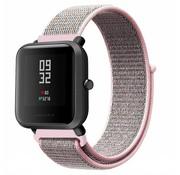 Strap-it® Xiaomi Amazfit Bip nylon band (pink sand)
