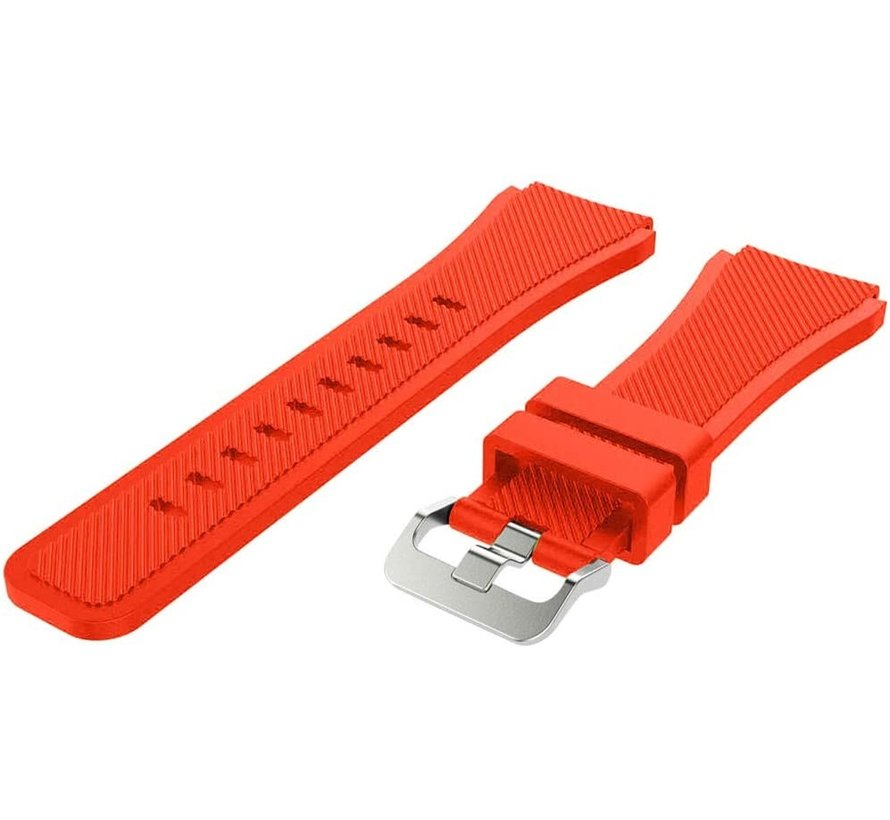 Strap-it® Xiaomi Amazfit GTR silicone band (rood)
